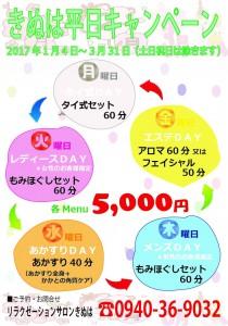 きぬは平日キャンペーン201701-03【A4】