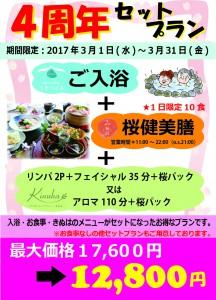 4周年セットプラン【A4】
