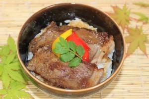 牛ロース丼