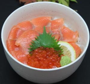 鮭いくら丼 - コピー