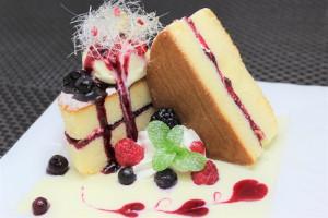ミックスベリーのパンケーキ