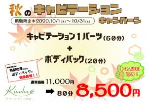 秋のキャビテーションキャンペーン【A4】