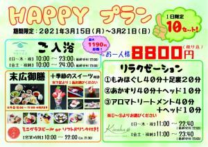 HAPPYプラン【A4】
